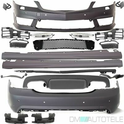 Mercedes W221 Bodykit Bumper+DRL High Quality ABS Plastic +Equipment for S65 AMG