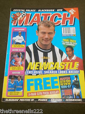 Match - Newcastle - Aug 2 1997