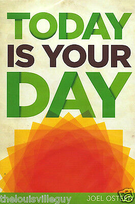 "Joel Osteen - ""Today Is Your Day"" 2 CD/1 DVD Set - Awesome Set!"
