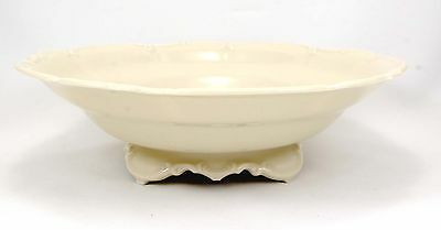 Hutschenreuther SYLVIA 4245 Round Footed Vegetable Bowl 10.375 in. Off White