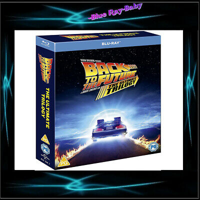 Back To The Future -Trilogy 1 2 & 3  *brand New Blu-Ray Region Free**