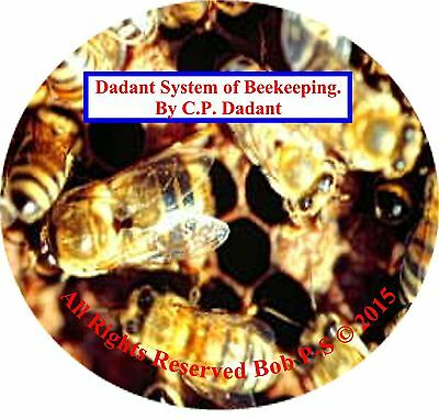 Beekeeping CD Dadant System of Beekeeping.  By C.P. Dadant Instructional PN392