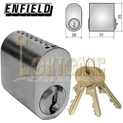 Dorma Yale Scandinavian accessory oval cylinder lock extension 8,10mm for Assa