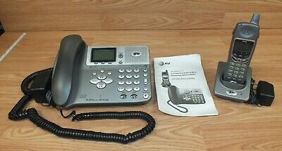 AT&T E2562 2.4 GHz DSS 2-Line Expandable Cordless Phone System With Answering