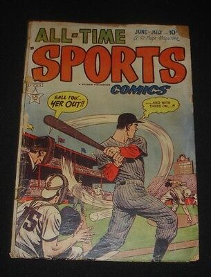 1940s Sports COMIC BOOK LOT True Sport & All Time Sports Collectors MUST L@@K
