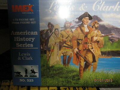 Imex American History Series-Lewis & Clark-Set-1/72 Scale-FREE SHIPPING