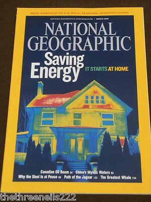 National Geographic - Saving Energy - March 2009