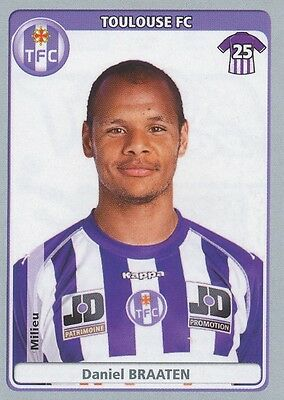 N°464 Daniel Braaten # Norway Norge Fc.toulouse Tfc Sticker Panini Foot 2012