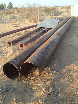 "New Old Stock 16"" Steel Water Well Casing 40' .250 Double Slotted"