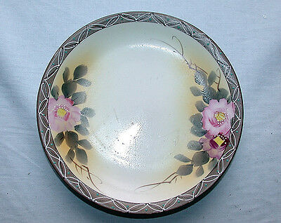 Beautiful Antique 1890-1920 C.N.G. Nippon Hand Painted Japanese Dish
