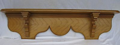 Antique Pennsylvania Grain Painted Wooden Shelf