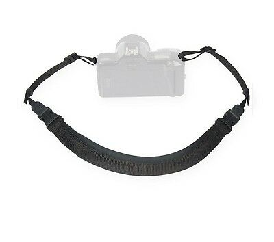 Optech Envy strap black Op/tech Padded comfort in a non-stretch design strap