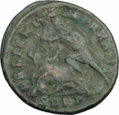 CONSTANTIUS GALLUS 351AD Roman  Ancient Coin BATTLE Horse man i33048