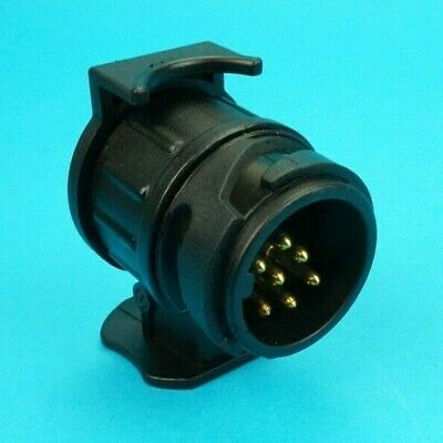 Conversion Adaptor for 13 Pin Socket on Vehicle to 7 Pin Plug on Trailer