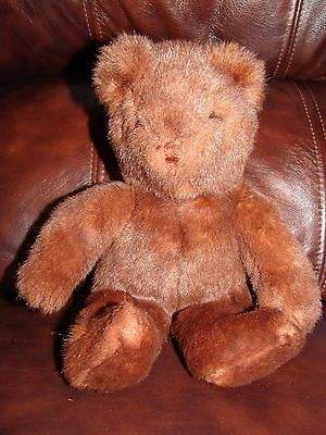 1992 Ty Classic Mink the Brown Teddy Bear Plush Doll 11""