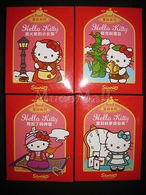 Hello Kitty Fairy Tales doll figures full set 8 Limited 2011-12 Jewelry Box