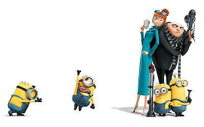 Despicable me 2  Edible Icing Party Cake Topper Decoration Image Custom