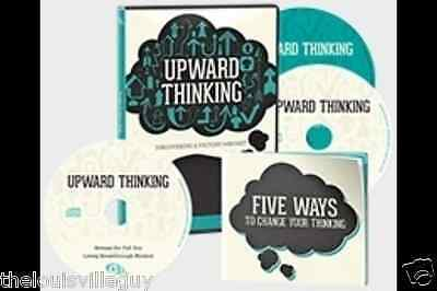 """Upward Thinking - A Victory Mindset"" - Joel Osteen  - 2 CD's, 1 DVD & Booklet!!"