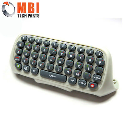 New Xbox 360 Chatpad, Keypad, Keyboard Live For Wireless Controller White