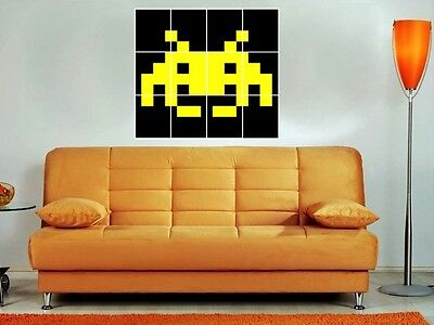 Outstanding Space Invaders Wall Art Inspiration - Wall Painting ...
