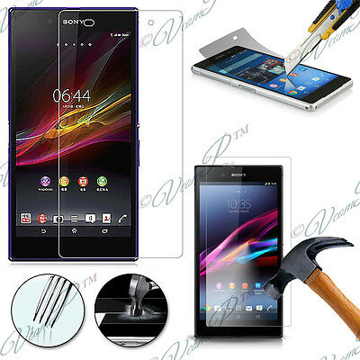 Film Verre Trempe Protecteur Protection Sony Xperia Z Ultra XL39H C6802 C6806