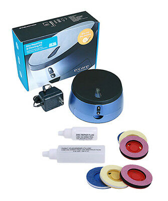 Disc Clean and Repair Kit CD DVD Blu-Ray HD-DVD Scratch Cleaner BONUS Refill Set