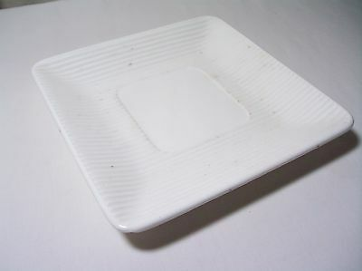 vintage erphila plate candy dish white made in germany art deco