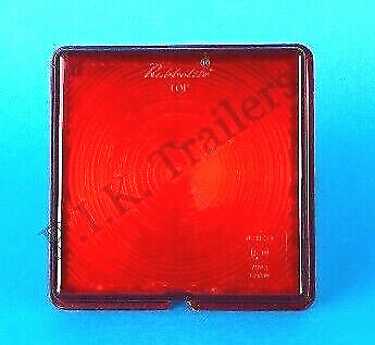 Rubbolite Replacement STOP TAIL Lamp Light LENS Ifor Williams Trailer Horse Box