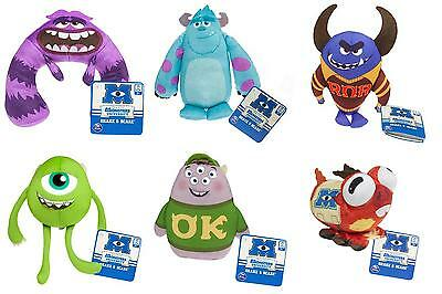 "Monsters University Shake & Scare 8"" Plush Toys - Sulley Art Mike Squishy Archie"