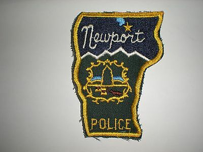 Newport, Vermont Police Department Patch