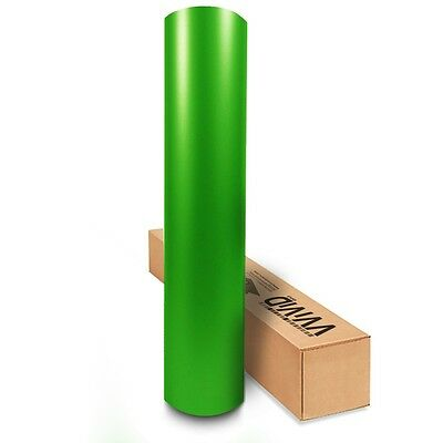 Vvivid 3Mil Matte Lime Green Vinyl Car Wrapping Decal