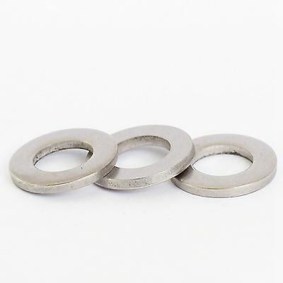 M1.6 Stainless Flat Form A Washers Thick 50 Pack