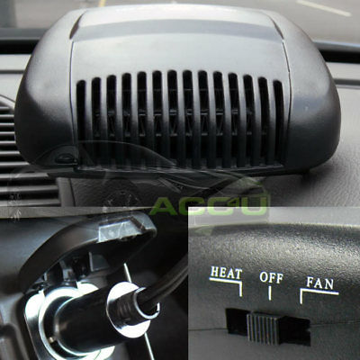 12v 150w Dual Function Car Van Winter Hot Heater & Summer Cooling Cooler Air Fan