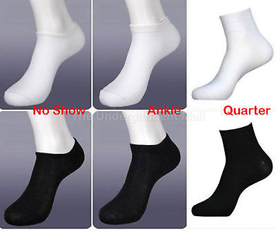 Men's women's Sport Socks 6-12 Pairs Lot no show size 9-11 crew ankle low cut