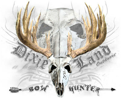 Dixie Land Outdoors bow hunter t shirt bowhunting archery treestand archery