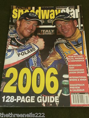 Speedway Star - 2006 Guide - March 25 2006