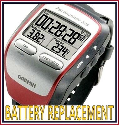 GARMIN Forerunner 305 Battery Replacement **Battery & Labor Included!**