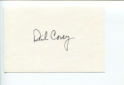 Richard Covey STS NASA Astronaut Space Signed Autograph