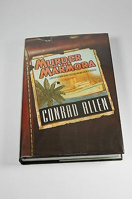 MURDER ON THE MARMORA - by Conrad Allen  2004, Hardcover, SIGNED First Ed