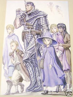 Berserk Postcard promo official product anime
