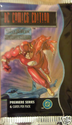 Dc Comic Edition Masterseries Trading Card Booster Pack