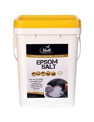11kg Epsom Salts BP & USP Magnesium Bath Salts - Gold Label Pharmaceutical