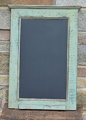 Primitive Chalkboard Elk Sage Green > Black Country Kitchen Style Vt