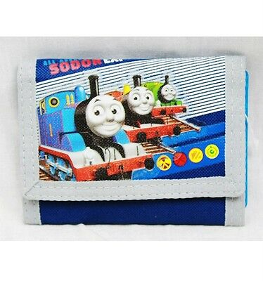 NWT Thomas the Train Tank Engine Trifold Wallet Newest Style Licensed Very Cool!