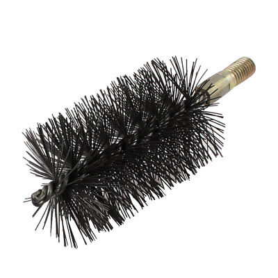 12mm Thread 63mm Diameter Steel Wire Tube Brush Cleaning Tool