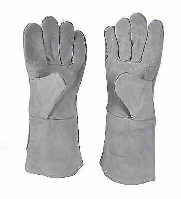 "13"" Heat Resistant Melting Furnace Gloves Refining Casting Gold Silver Copper"