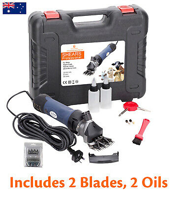 380W Electric Sheep Shearing Machine Clippers Goat Shears Supplies Hand Cutters