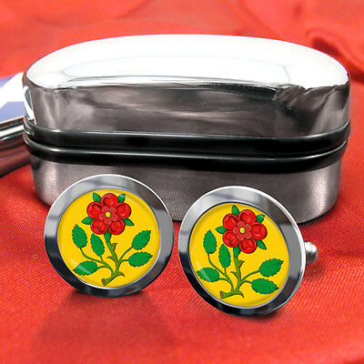 Lancashire County Cufflinks & Box
