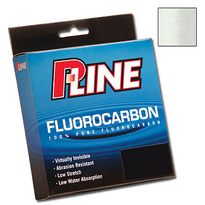 P-LINE FLUOROCARBON SOFT - Clear 250 Yds 225m 5-20 Lbs - 100% JAPAN FLUOROCARBON
