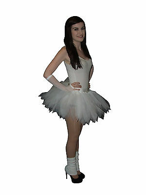 White Neon Tutu Skirt 80S Hen Party Bridal Baby Toddler Girls Wedding Plus Size